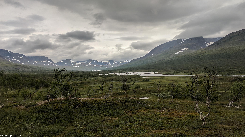 Norwegen Trekking Landschaft
