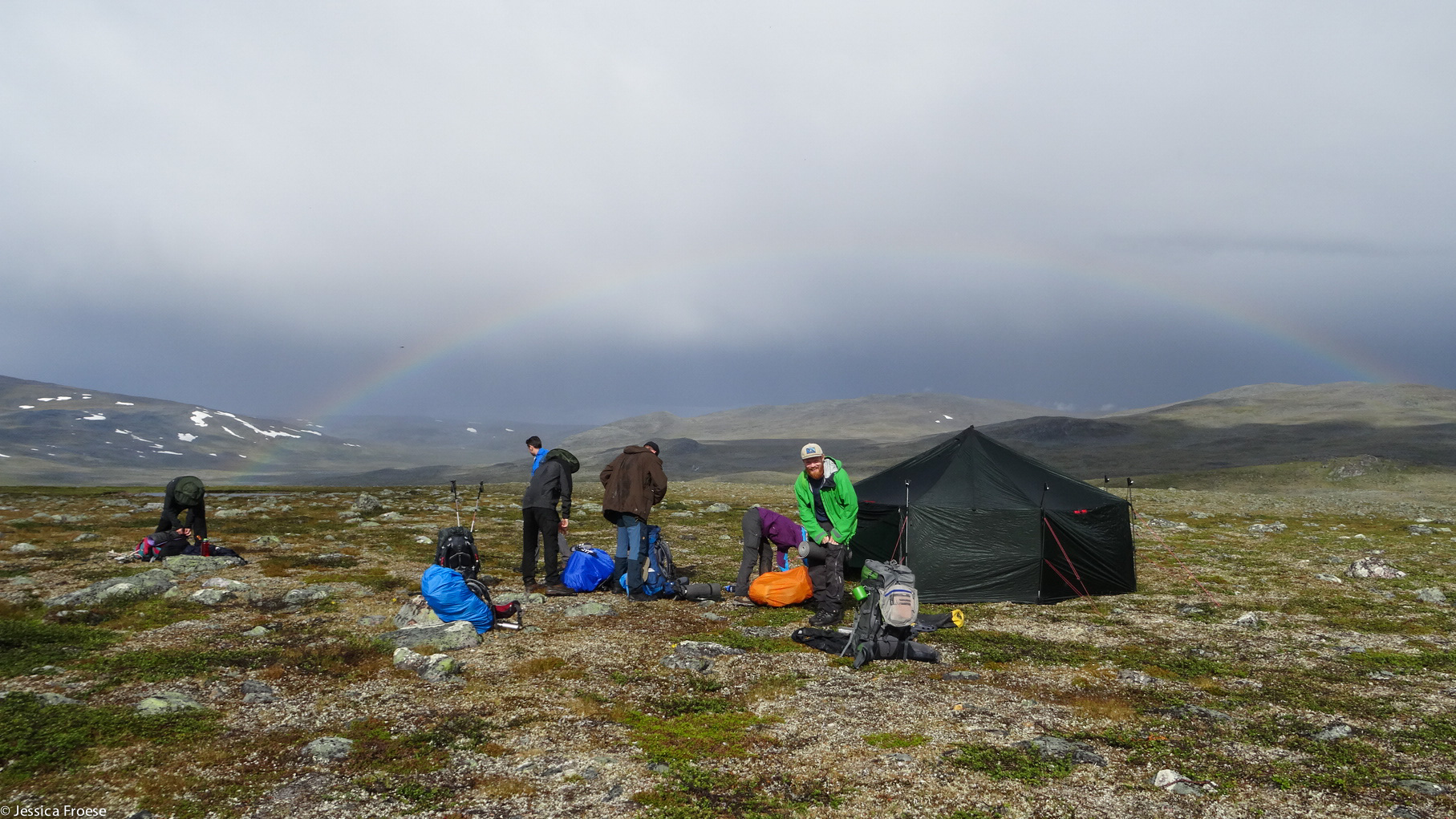 Norwegen Trekking Pause