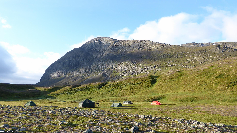 Norwegen Trekking Zeltlager