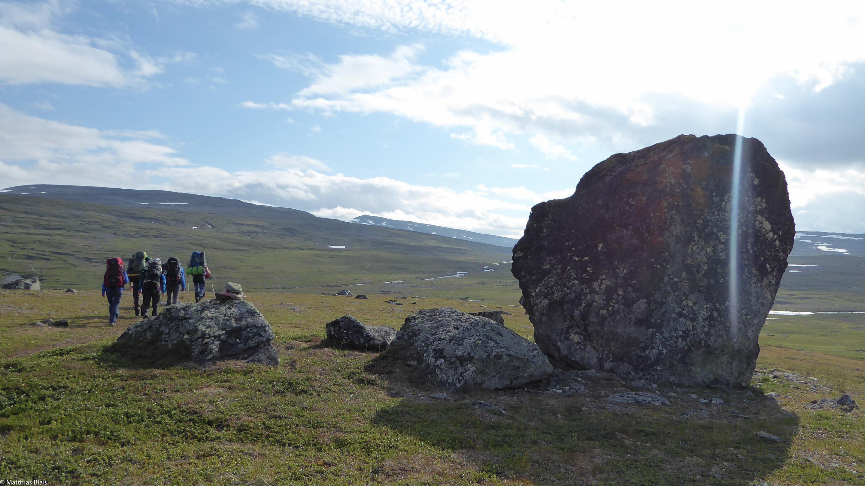 Trekking in Norwegen