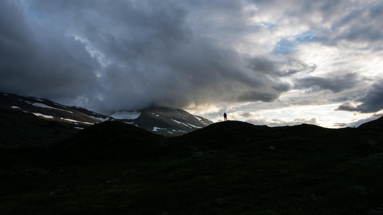 Norwegen Trekking Schatten