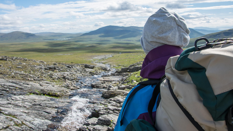 Norwegen Trekking Fernblick