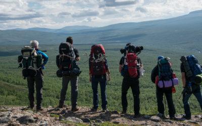 Trekkingtour Øvre Dividal Nationalpark – Das erste Mal zu sechst!