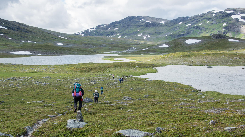 Norwegen Trekking Landschaft 3