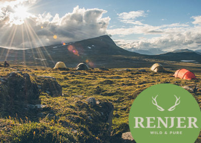 """wild & pure"" Trekkingtour Øvre Dividal Nationalpark powered by renjer.ky"