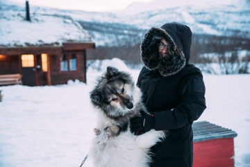 Impressionen Huskyfarm Norwegen-5