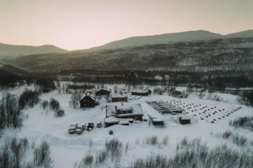 Impressionen Huskyfarm Norwegen-6
