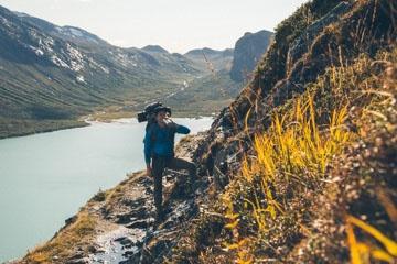 Bessegen Jotunheim Wanderung in Richtung Gjendebu